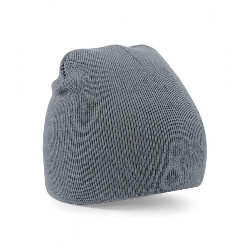 Beechfield Beanie Knitted Hat Graphite Grey
