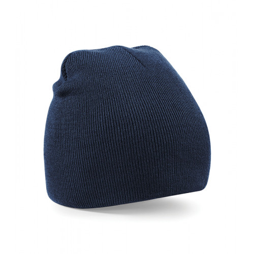 Beechfield Beanie Knitted Hat French Navy