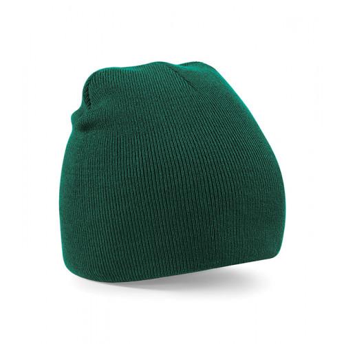 Beechfield Beanie Knitted Hat Bottle Green