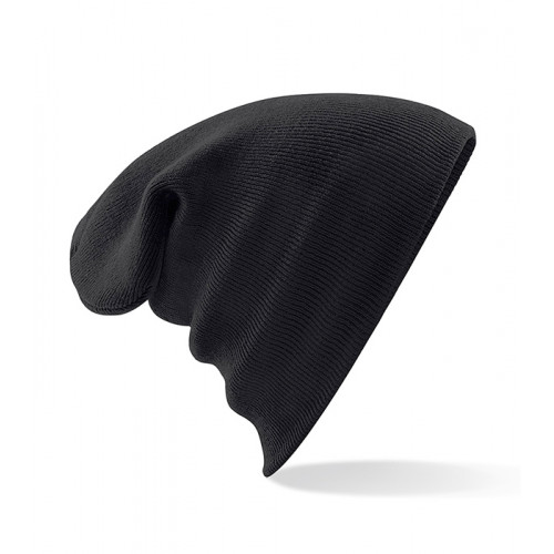 Beechfield Junior Knitted Hat Black