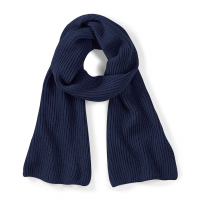 Beechfield Metro Knitted Scarf French Navy