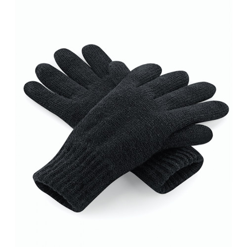 Beechfield Classic Thinsulate Gloves Black