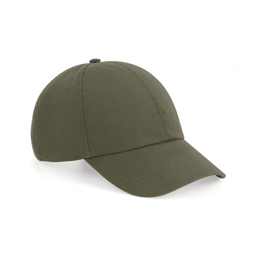 Beechfield Organic Cotton 6 Panel Cap OliveGreen