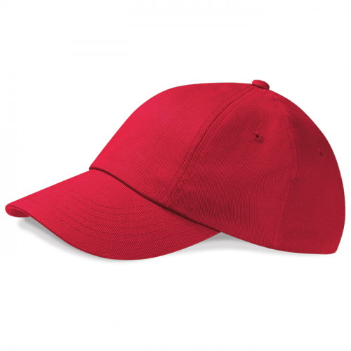 Beechfield Low Profile Heavy Cotton Drill Classic Red