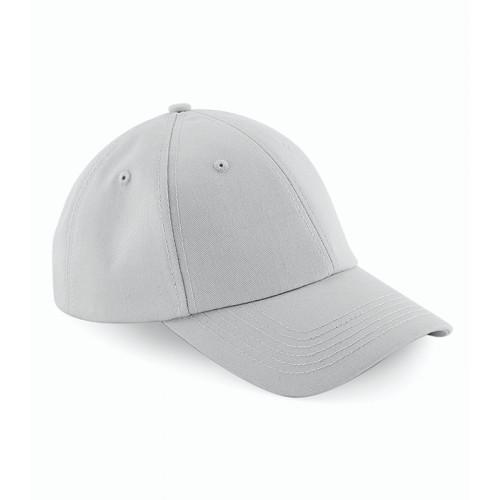 Beechfield Authentic Baseball Cap Light Grey