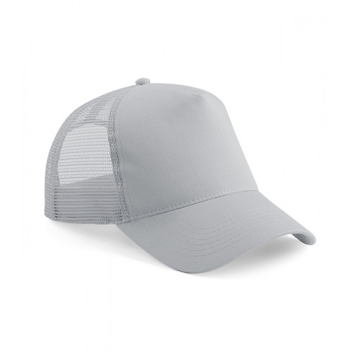 Beechfield Snapback Trucker Light Grey/Light Grey