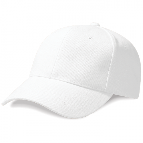 Beechfield ProStyle Heavy Brushed Cotton White