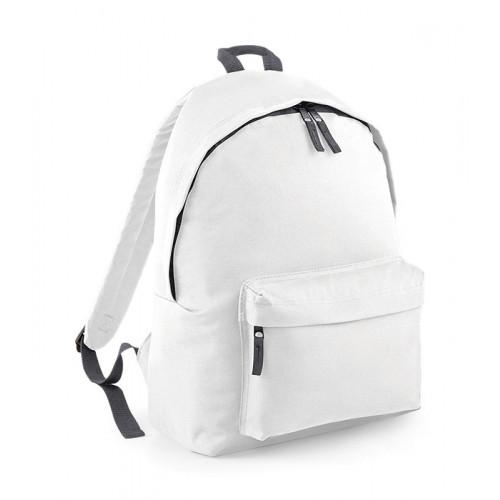 Bag Base Junior Fashion Backpack White/GraphiteGrey