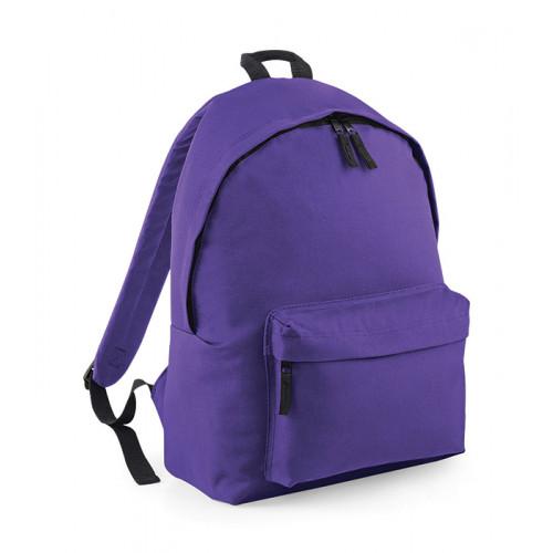 Bag Base Junior Fashion Backpack Purple/LightGrey