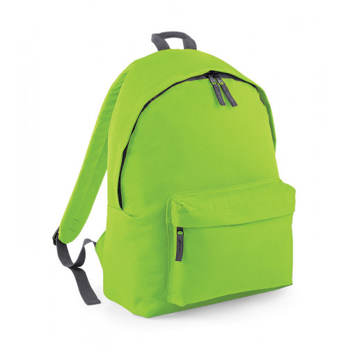 Bag Base Junior Fashion Backpack LimeGreen/GraphiteGrey