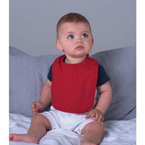 Babybugz Baby Bib White