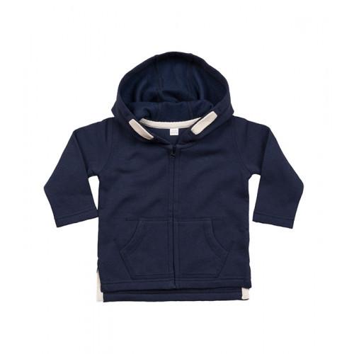 Babybugz Baby Hoodie Nautical Navy