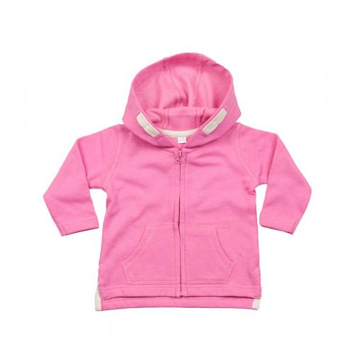 Babybugz Baby Hoodie Bubble Gum Pink