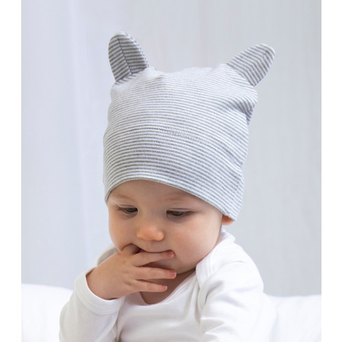 Babybugz Little hat with ears Organic Natural/Mocha
