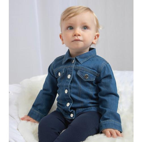 Babybugz Baby Rocks Denim Jacket Denim