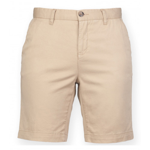 Front Row Front Row Stretch Chino Shorts Stone
