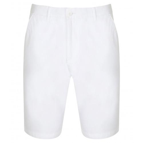 Front Row Ladies' Stretch Chino Shorts (Tag Free) White