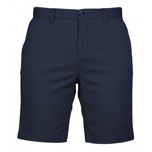Front Row Ladies' Stretch Chino Shorts (Tag Free) Navy