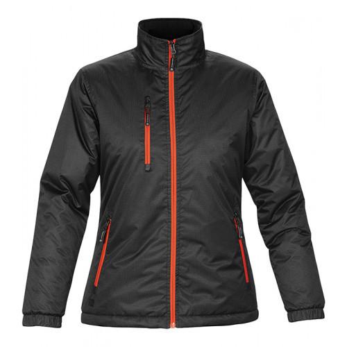 Stormtech W'S AXIS Jacket Black Orange
