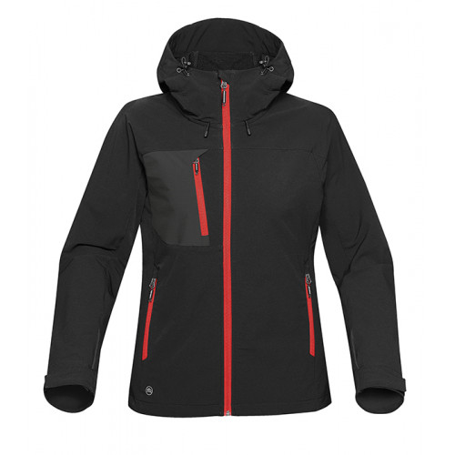 Stormtech Sidewinder Shell Black/Bright Red