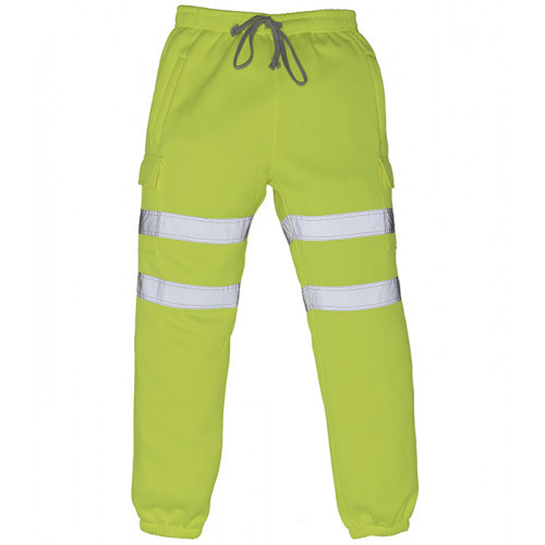 YOKO Hi-vis Jogging Pants Hi vis yellow