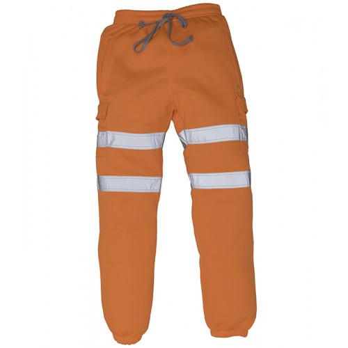 YOKO Hi-vis Jogging Pants Orange