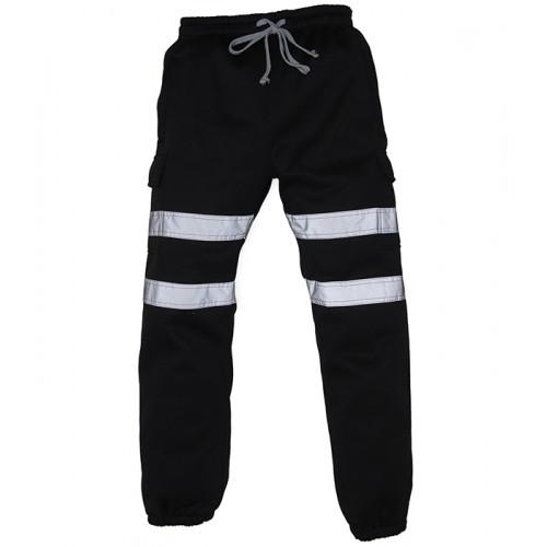 YOKO Hi-vis Jogging Pants Black