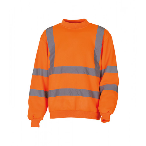 YOKO Hi-vis Sweatshirt Orange