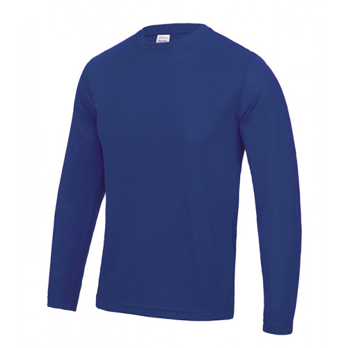 Just Cool Long Sleeve Cool T Royal Blue