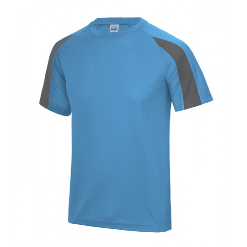 Just Cool Contrast Cool T Sapphire Blue/Charcoal