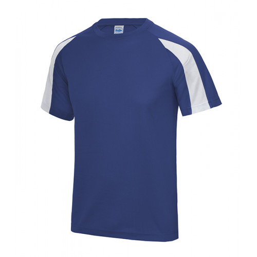 Just Cool Contrast Cool T Royal Blue/Arctic White