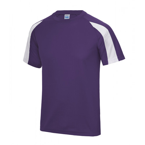 Just Cool Contrast Cool T Purple/Arctic White