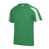 Just Cool Contrast Cool T Kelly Green/Artic White