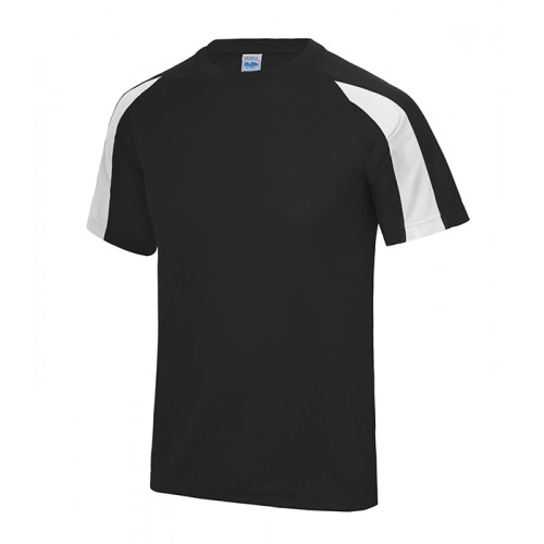 Just Cool Contrast Cool T Jet Black/Arctic White