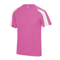 Just Cool Contrast Cool T Electric Pink/Artic White