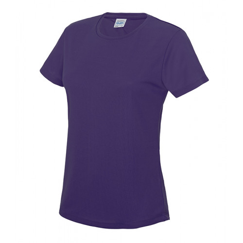 Just Cool Girlie Cool T Purple