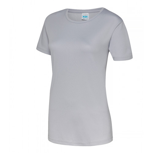 Just Cool Girlie Cool T Heather Grey