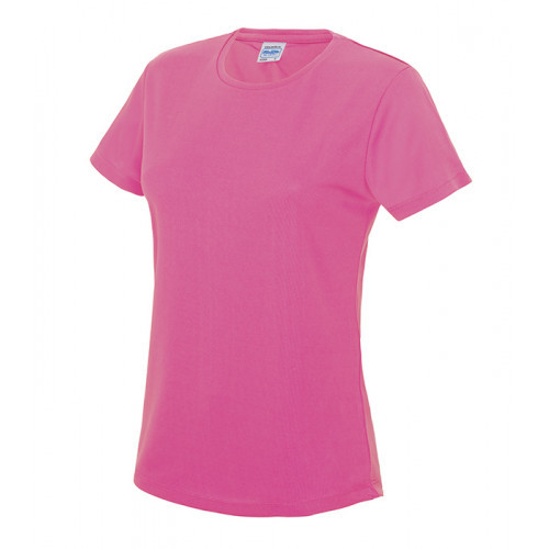 Just Cool Women's Cool T Electric Pink