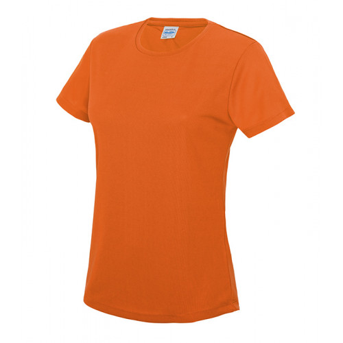 Just Cool Girlie Cool T Electric Orange
