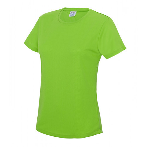 Just Cool Girlie Cool T Electric Green