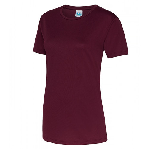 Just Cool Girlie Cool T Burgundy
