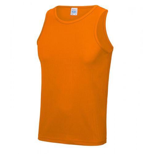Just Cool Cool Vest T Orange Crush