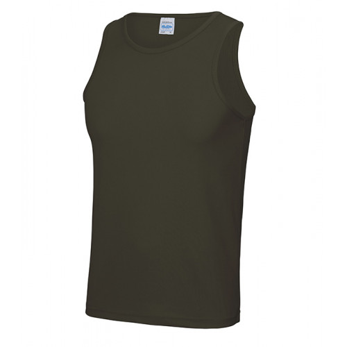 Just Cool Cool Vest T Olive Green