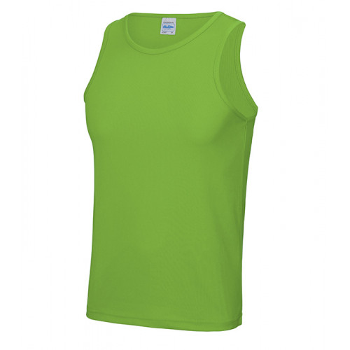Just Cool Cool Vest T Lime Green