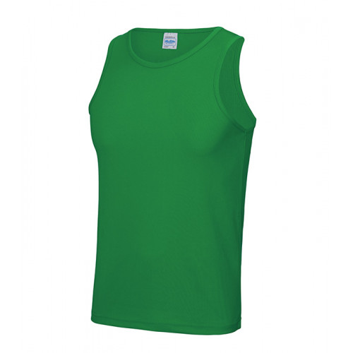 Just Cool Cool Vest T Kelly Green