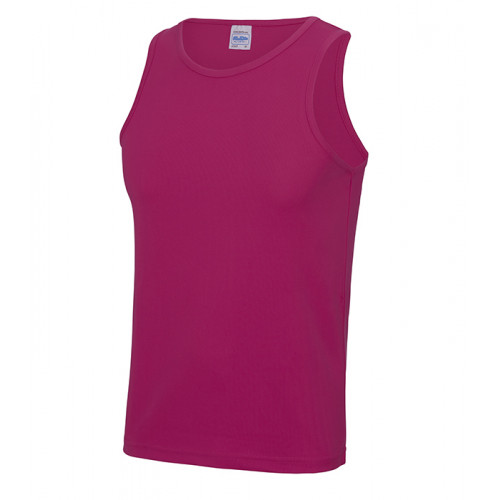 Just Cool Cool Vest T Hot Pink
