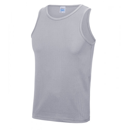 Just Cool Cool Vest T Heather Grey
