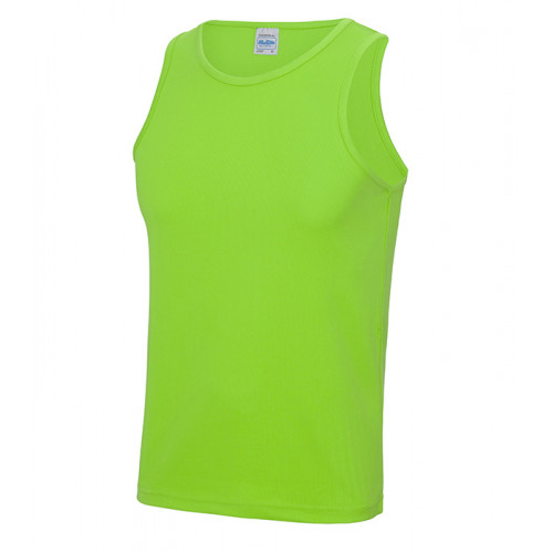 Just Cool Cool Vest T Electric Green