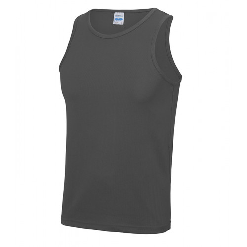 Just Cool Cool Vest T Charcoal