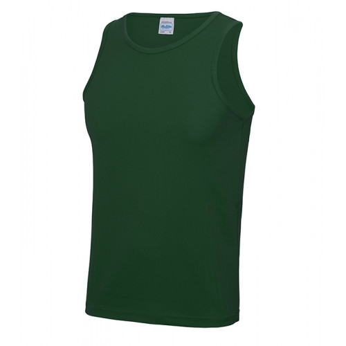 Just Cool Cool Vest T Bottle Green